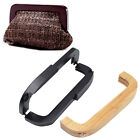 1 Pc Vintage Wooden Bag Purse Handle Openable Handle DIY Replacement Handmade