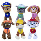 "NEW OFFICIAL 12"" PAW PATROL PUP PLUSH SOFT TOY NICKELODEON DOGS CHASE ROCKY ZUMA"