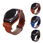 1x Leather Cuffs Replacement Wristband For Samsung Galaxy Gear S2 Classic R732