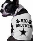 I'm The Big Brother Star Dog Shirt Personalized Fun Doggy Clothing