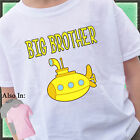 SUBMARINE BIG BROTHER SHIRT PERSONALIZED SHIRT YELLOW SUB