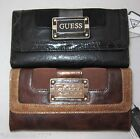 GUESS by Marciano Angie Logo Purse Wallet Large Brown New
