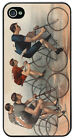 Vintage Bicycle Race High Quality Cover/Case For iPhone 4/4S Bike Classic Art