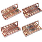 12Color Earth Color Makeup Cosmetic Shimmer Matte Eyeshadow Palette Mirror+Brush
