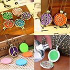 New Charm Aromatherapy Locket Essential oil Diffuser Necklace Pendant Jewellery