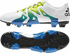 adidas X 15.3 Firm Ground / AG Mens Football Boots - White