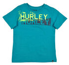 Hurley Big Boys S/S Vista Blue & Neon Fashion Top Size 18/20 $32