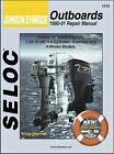 Johnson Evinrude Outboard Repair Manual 1.25-70 HP, 1-4 Cylinder, 2-Stroke & 4-S