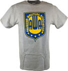 AWA American Wrestling Alliance Logo Gray Mens T-shirt