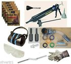 Turptech Pro Complete Repointing Pack - Mortar Rake, Mortar Gun & Safety Kit