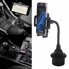 Universal Cup Holder Cradle Car Mount Adjustable For Cell Ph