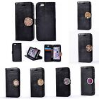 1PC Luxury Leather Coin Moneda Card Slot+Photo Frame Case Cover For Mobile Phone