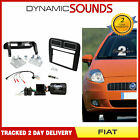 CTKFT15 Fiat Grande 05-09 Punto Double Din Car Stereo Fascia Fitting Kit Black