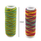 Spool Sewing Nylon Thread Rainbow Hand Quilting Embroidery Needlework 110 Meters