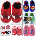 Kids Girl Boy Cotton Crib Shoes Newborn Infant Toddler Pram Soft Sole Prewalker
