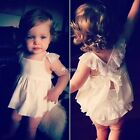 1Pcs Cute Baby Kids Girls Dot Sequins Sleeveless Tutu Tulle Summer Dress  DZ88