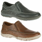 Mens Hush Puppies Briggs Tallon Slip On Casual Loafer Shoes Sizes 7 to 12