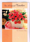 NEW-Happy Valentines Teacher-18-200 Greeting Card lots-As low as 19 cents each