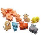 5 Pcs Cartoon Resin Shank Buttons Animals Sewing Kids Baby Clothes Coat Sweater