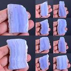 46-77mm Blue lace agate freeform slice pendant bead *Each one pictured*