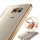 ShockProof Silicone Rubber Clear Case Cover For Samsung Galaxy J7 S5/S6/S7 Edge