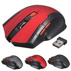 2.4GHz Wireless Optical Gaming Mouse Mice USB Receiver For PC Laptop Desktop