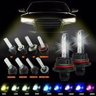 One Pair of Xenon HID 880 5202 9005 9006 Conversion Kit Replacement Light Bulbs