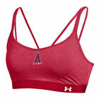Los Angeles Angels Under Armour Feeder Stripe Bra - Red