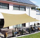 Sun Shade Sail Triangle /Rectangle/ Square Outdoor Patio Canopy UV Top Shelter
