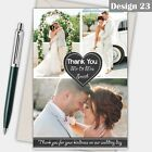 Photo Wedding Thank You Cards Personalised