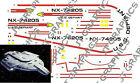 STAR TREK USS DEFIANT 1/420 SCALE Conversion Decals JTG-008 on eBay