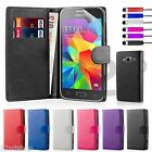 32nd Book Wallet Case for Samsung Galaxy Grand Prime + Screen Protector & Stylus
