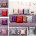1PC Fancy Sequins Pillow Case Sofa Throw Cushion Cover Home Car Decoration Gift