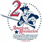 Anti Obama THE 2ND AMERICAN REVOLUTION Conservative Political Shirt
