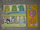 Colorful Baby Looney Tunes 9 Oz Feeding Bottles Bib Rattle Tweety Bird New!