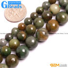 Natural African Jade Jadeite Round Beads For Jewelry Making Free Shipping 15""