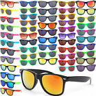 Wayfarer Mens Womens Classic & Mirror Sunglasses Sun Glass Vintage Retro Design