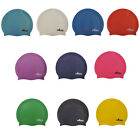 SwimTech Silicone Swim Cap Adults Swimming Pool Caps rrp£9