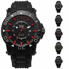 SHARK ARMY Voodoo II 5 Colours Date Rubber Band Military Mens Qaurtz Sport Watch