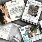 Personalised Photo Wedding Thank You Cards Many Designs Free Envelopes