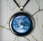 EARTH OUR BLUE PLANET PENDANT NECKLACE  -s3r4t