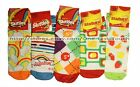 *CANDY DESIGN 1 Pair of Socks ANKLE LENGTH Size 9-11 UNISEX New! *YOU CHOOSE*