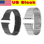 316L Link Bracelet Stainless Steel Watchband Strap For Apple Watch US Stock Hot