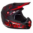 Kali Prana Carbon RIP Red MX Off-Road Motorcycle Helmet