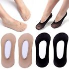 6 12 Pairs Womens Invisible No Show Sheer Foot Cover Thin Nylon Liner Socks FS90