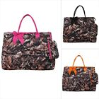 Bnb Natural Camo Print NGIL® Quilted Overnight Tote Bag