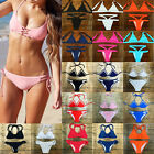 2016 Sexy Womens Push-up Bikini Set Beach Swimsuit Swimwear Brazilian Bathing FO