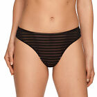 PRIMA DONNA TWIST ONLY YOU STRING 0641470 NOIR NEUF THONG NEW