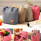 Portable Travel Insulated Thermal Cooler Lunch Box Carry Tote Picnic Bag UK