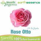 earthessence ROSE OTTO 3% JOJOBA ~ CERTIFIED ORGANIC PURE ESSENTIAL OIL